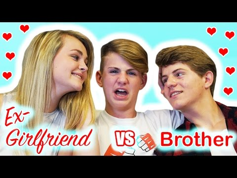 Ex-Girlfriend vs Brother - Who Knows MattyBRaps Better? (видео)