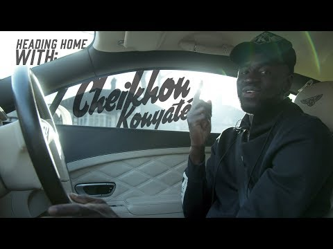 Heading Home With: Cheikhou Kouyaté | Bentley GT Continental