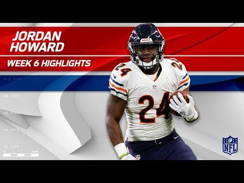 Video: Jordan Howard's a Powerhouse w/ 36 Carries & 167 Yards