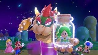 Super Mario 3D World - 100% Walkthrough Part 1 - World 1 (1-1, 1-2, 1-A, 1-3) - Green Stars & Stamps