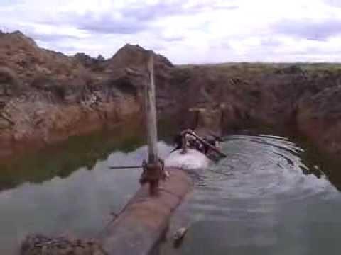 подводная лодка в степях казахстана