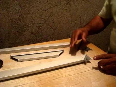 esquadreta furando perfil aluminio .MPG
