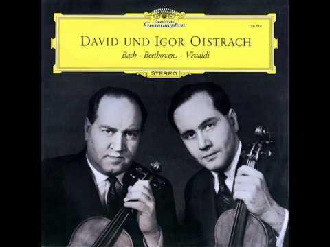 "Vivaldi / David and Igor Oistrakh, 1961: Concerto Op. 3 No. 8 A Due Violini, ""L'Estro Armonico"""
