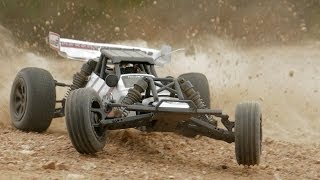 Mad Gear Desert Wolf Baja RC Buggy Car In Action