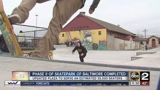 Video Phase II of Baltimore skate park complete MP3, 3GP, MP4, WEBM, AVI, FLV Oktober 2017