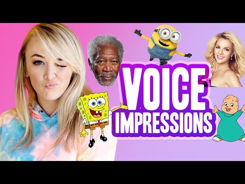 NEW VOICE IMPRESSIONS (Morgan Freeman, Minions & more!)