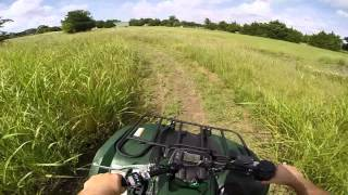 4. 2013 Yamaha Grizzly 450 test ride