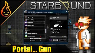 This is a Starbound Portal Gun Mod Spotlight video. In it, we take a look at the portal gun mod for Starbound. Link to the mod: ...
