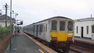 Larne United Kingdom  City pictures : UK: Northern Ireland Railways Class 450 'Castle' DEMU at Moira on a Larne Harbour to Portadown train
