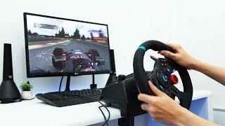 Jadi Supir Truk Sampai Pembalap Formula 1 - Review Logitech G29