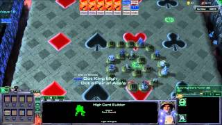 Spudheds Plays - Starcraft 2 Arcade Map Poker Defense #2