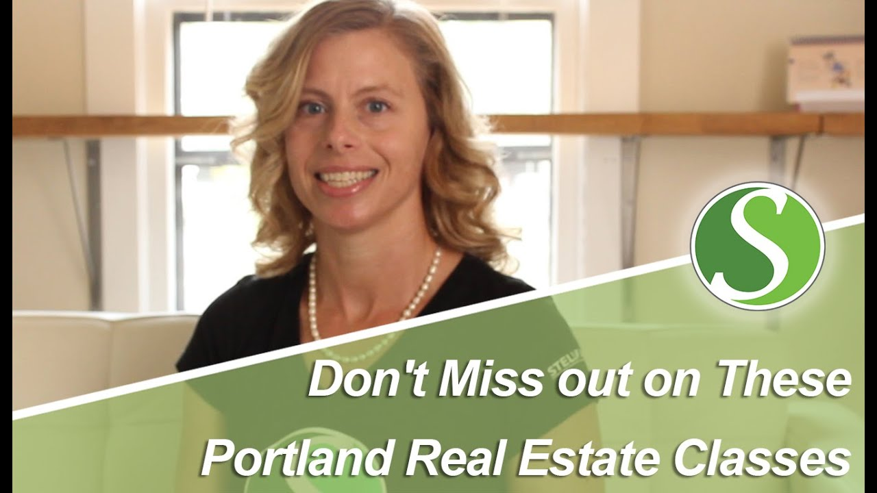 Portland Real Estate Classes for Buyers and Sellers