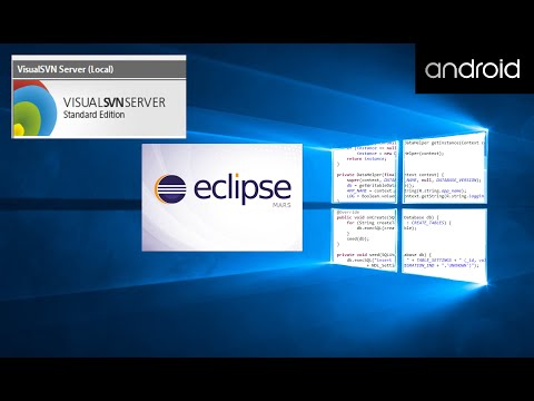How to Install VisualSVN & Configure Eclipse to use SVN for Source Control