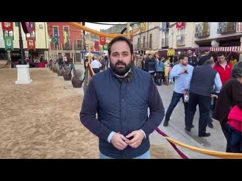 El Presidente del PP de CLM visita la Feria de las...