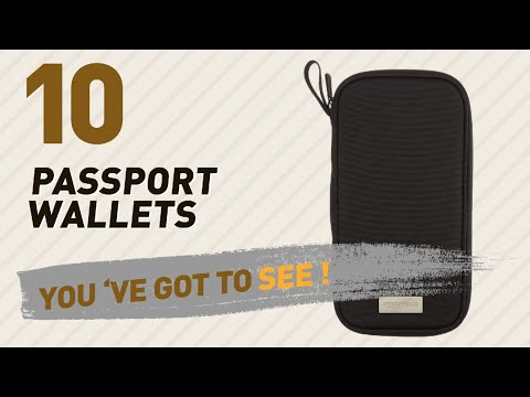 Top 10 Passport Wallets Collection // Travel Accessories, India 2017