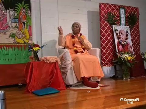 Bhakti Rasamrita Swami's - The culture of hearing seminar - Melbourne day 2 - 27 August 2017