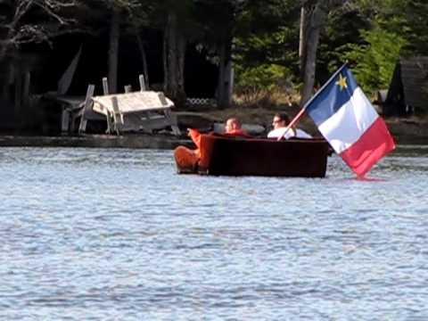 Meteghan, Nova Scotia, Easter Canoe Trip Highlight April 2-3, 2010 -#2