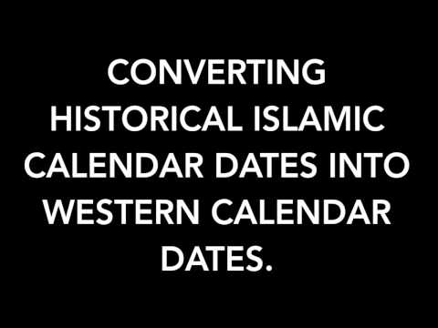 Video of Islamic Calendar Converter