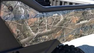 8. 2017 HONDA 1000-EPS PHANTOM CAMO 3 SEATER