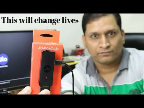 This can change Lives   Jio Media Cable