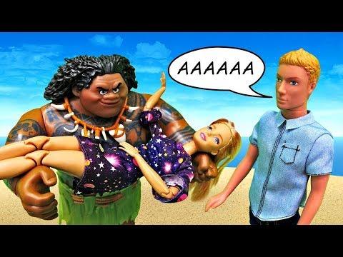 Barbie tem um novo amor?! Barbie e Ken. Vídeos  de personagens Barbie para meninas