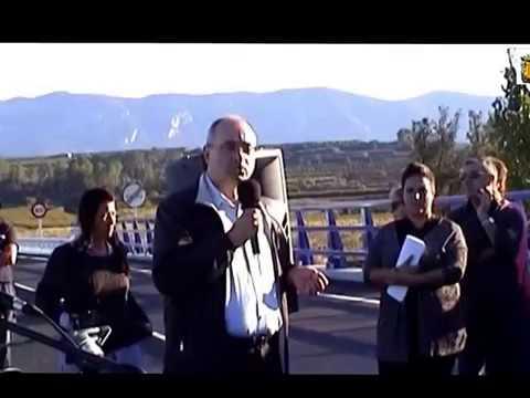 Inauguración de la carretera Benigànim Pobla del Duc CV-611  1ªFASE