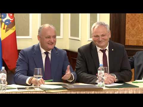 Игорь Додон провел встречу с главами молдавских общин из 20 регионов России