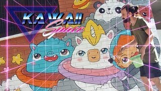 How To Paint Kawaii Space - Kawaii Graffiti by Garbi KW