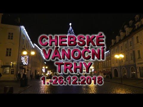 Chebské vánoční trhy 2018 třetí část