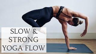 Video STRONG & SLOW YOGA FLOW | 30-Minute Power Yoga | CAT MEFFAN MP3, 3GP, MP4, WEBM, AVI, FLV Maret 2018