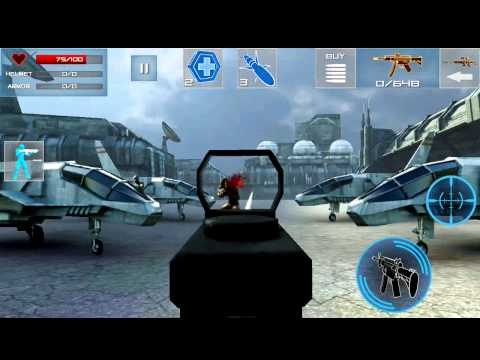 Enemystrike - Direct feed gameplay of Killer Bean Studios new FPS, Enemy Strike. SuperGameDroid.com - For The Love Of The Game!