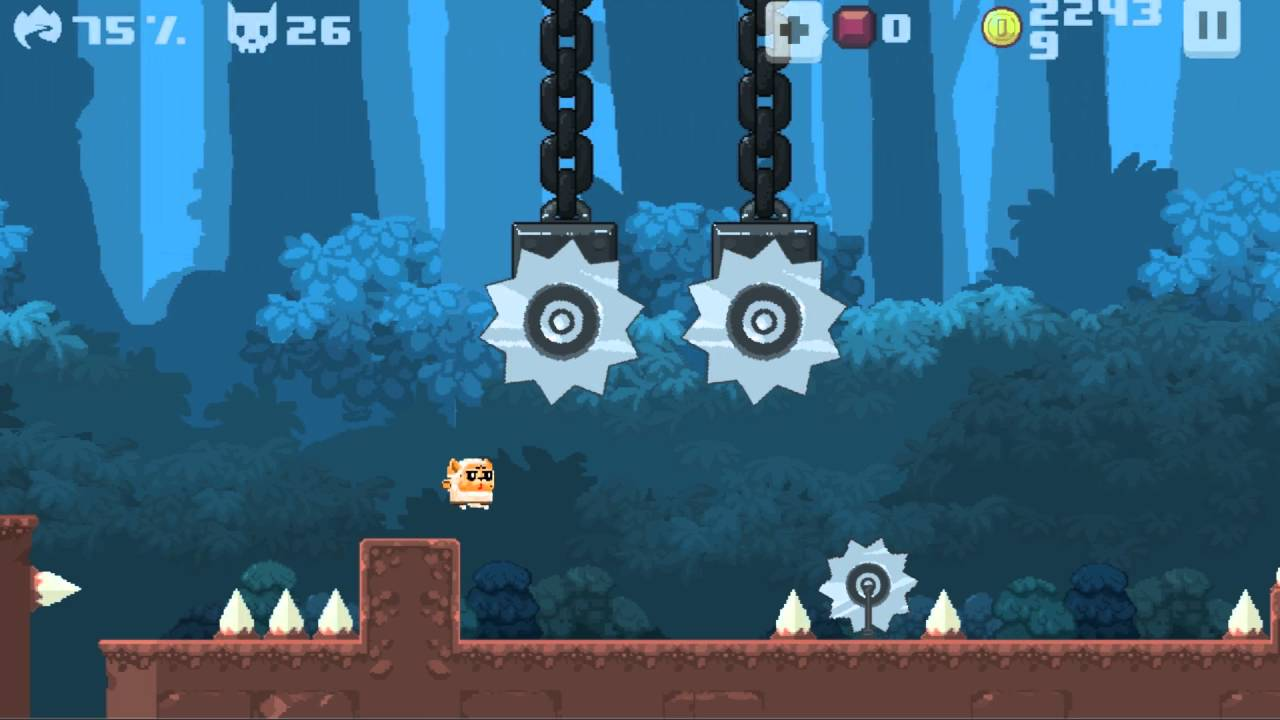 Super Meat Cat? Asura's 'Cat Knight Story' is a Masochistic One-Touch Platformer Looking for Beta Testers