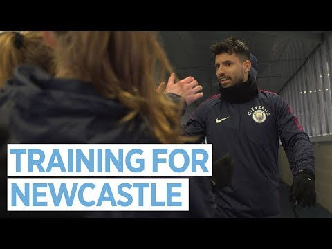 Video: PREPPING FOR NEWCASTLE | Training