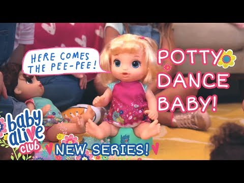 New Series! - Baby Alive Club - 'potty Dance Baby' 💩 Ep. 1