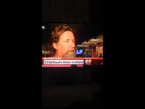 Earthquake march 28, 2014 kcal9 live news