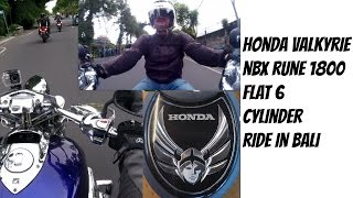 3. Honda Valkyrie Rune 1800cc Flat 6 Cylinders, The Valkyrie Ride