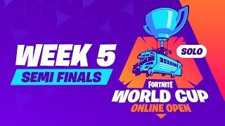 Fortnite World Cup - Week 5 Semi Finals
