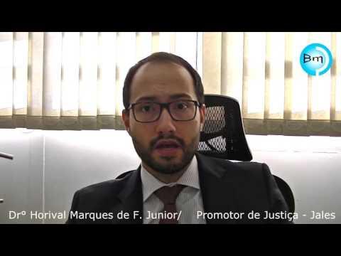 Jales - Promotor de Justiça de Jales, Dr. Horival Marques de Freitas Junior fala sobre a liminar contra o Estado.