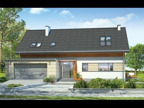 Projekt domu Gala http://www.mgprojekt.com.pl/gala