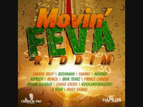 MOVIN' FEVA RIDDIM MIX (navino, Tarrus Riley, Busy Signal & Others) March 2012 - Dj Notnice