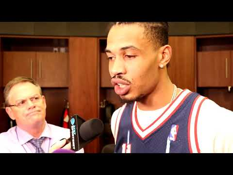 Gerald Green Postgame Interview / Rockets vs Timberwolves Game 1