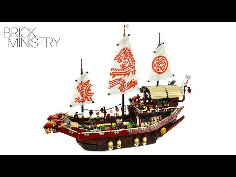 LEGO 70618 The LEGO Ninjago Movie ● Destiny's Bounty