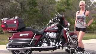 4. Used 2007 Harley Davidson Electra Glide Ultra Classic Motorcycles for sale in Florida