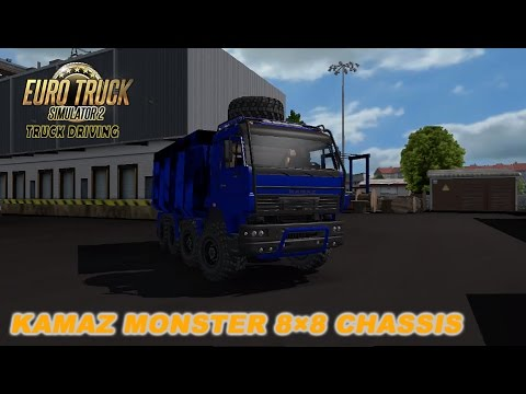 KamaZ MonsteR ChassiS 8x8 [FIXED]