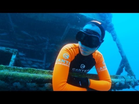free diving - Discover the dream home of 9-time Freediving World Champion, Yasemin Dalkilic as she takes us to the Aquarius habitat, the world's oldest underwater laborato...
