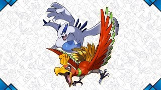 Ho-Oh and Lugia conclude a year of Legendary Pokémon by The Official Pokémon Channel