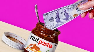 Turn Nutella Jar into a FANCY WALLET