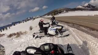 9. 2012 Polaris RMK 600 at Steamboat Lake, Colorado 4