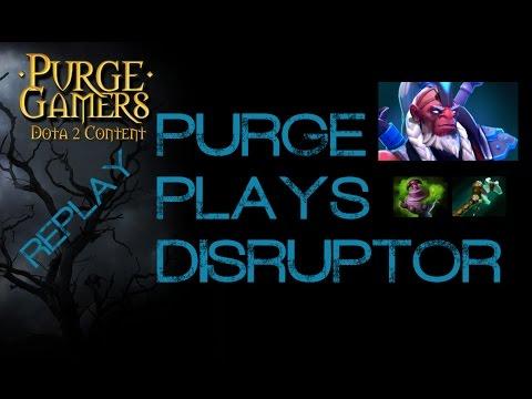 Dota 2 Purge plays Disruptor