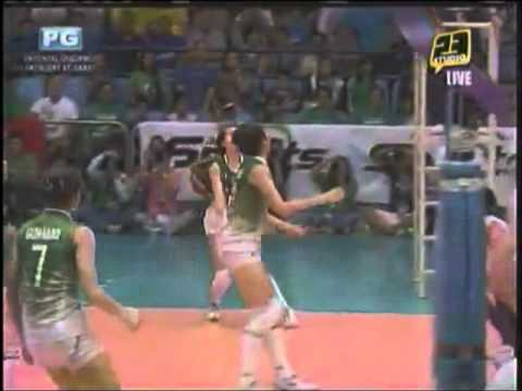 3 Crucial Points By The Rookies Ara Galang And Mika Reyes [s74 Finals Game 2 Admu Vs Dlsu]